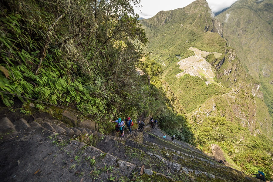 Huayna Picchu Steep Trail