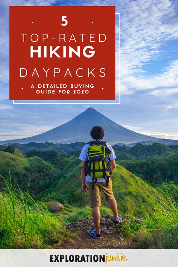 Hiking Daypacks Pinterest Image