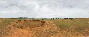 Phonsavan, Bomb Craters