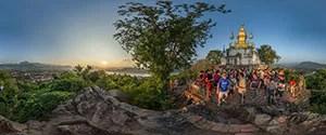 Luang Prabang, Phu Si Hill