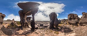 Mount Roraima Summit, Hike to The Triple Border