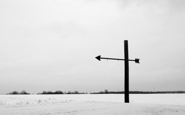 Arrow. Bruce Trail.