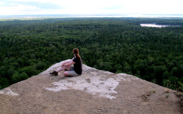 Cup and Saucer Trail. Manitoulin Island.