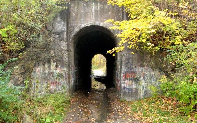 Screaming Tunnel. Niagara Falls.