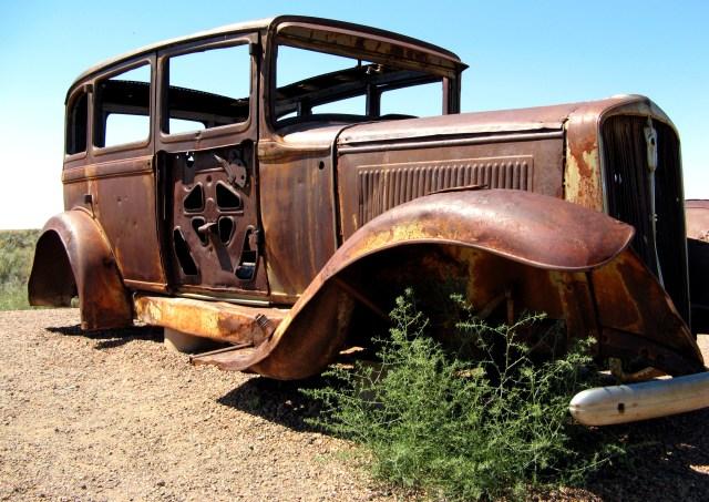 Studebaker. Route 66
