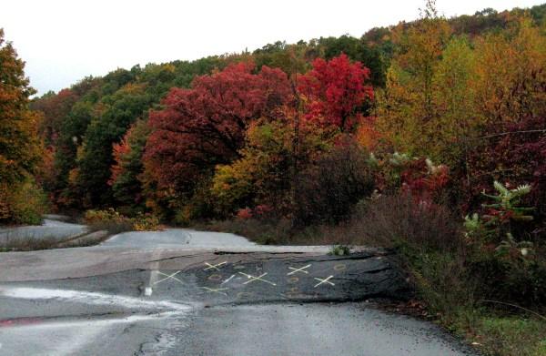 Route 61. Centralia, Pennsylvania.