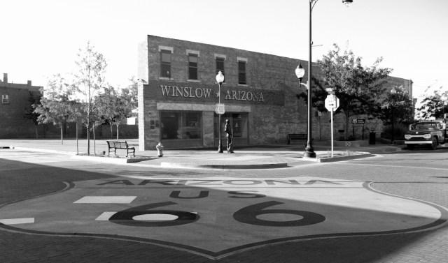 Route 66. Winslow, Arizona