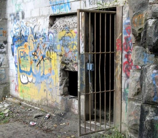 Gate. Blue Ghost Tunnel