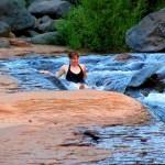 Feeling Like a Kid Again in Slide Rock State Park – Sedona, Arizona.