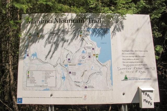 Manitou Mountain Map
