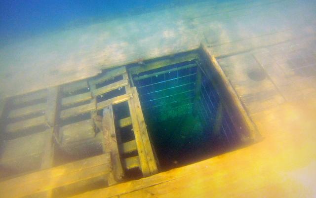 Sweepstakes Shipwreck Tobermory