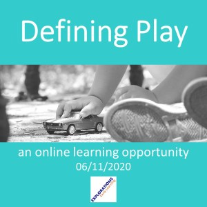 Defining Play