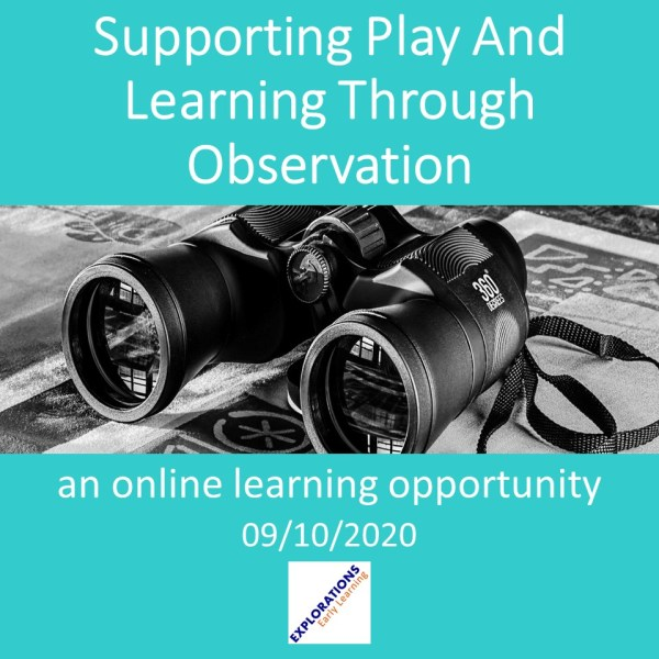 Supporting Play And Learning Through Observation
