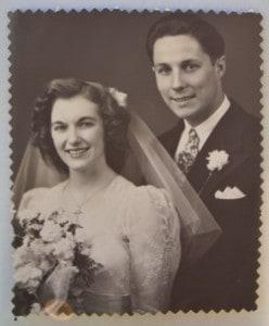 Lucy and Joey wedding photo