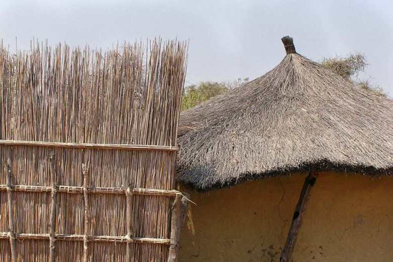 Botswana - ExplorationVacation P1010166 village.1