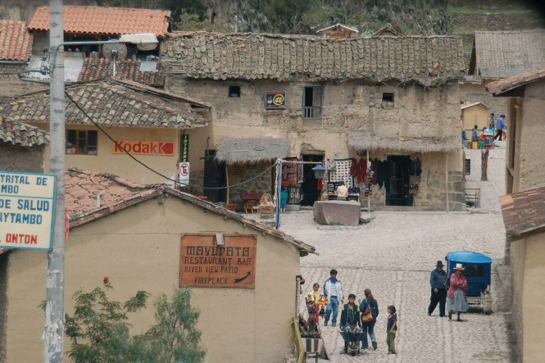 Ollantaytambo Peru - ExplorationVacation 2005-12-30_10_50_19