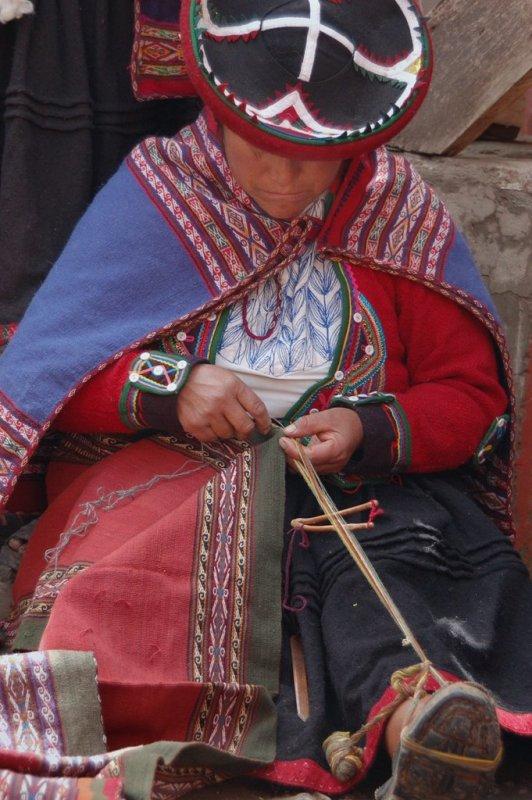 Weaving in Peru - ExplorationVacation 2006-01-01_09_42_14