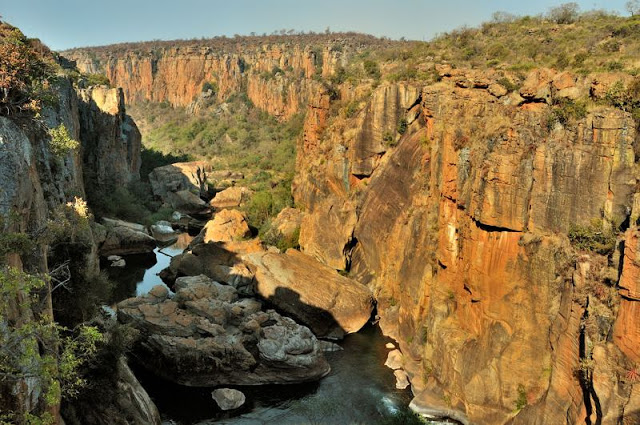 Bourke's Luck Potholes on the Panorama Route in South Africa - ExplorationVacation.net