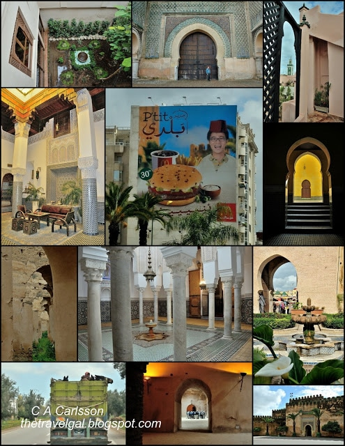 Meknes collage of architecture and more