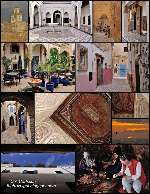 Marrakech to Essaouria Collage