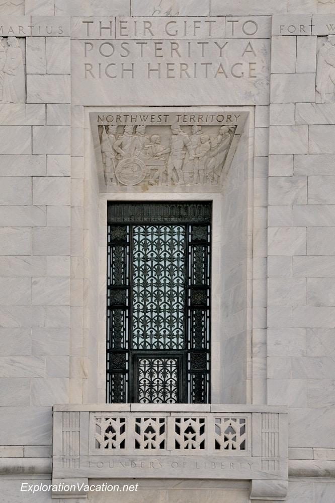 justice building Scioto Mile Columbus Ohio - www.ExplorationVacation.net