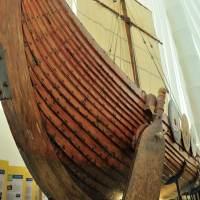Hjemkomst Viking ship in Moorhead Minnesota