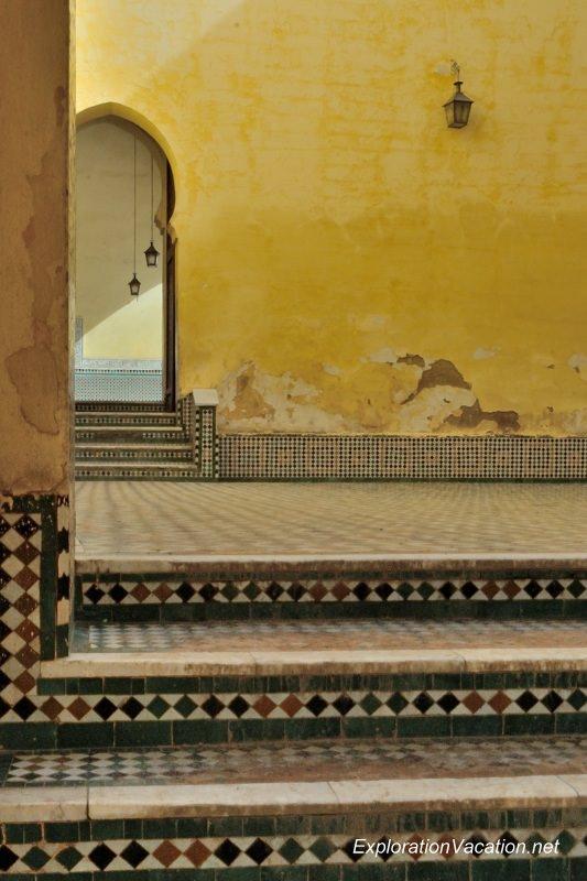 Mausoleum of Moulay Ismael Mekness Morocco DSC_0792