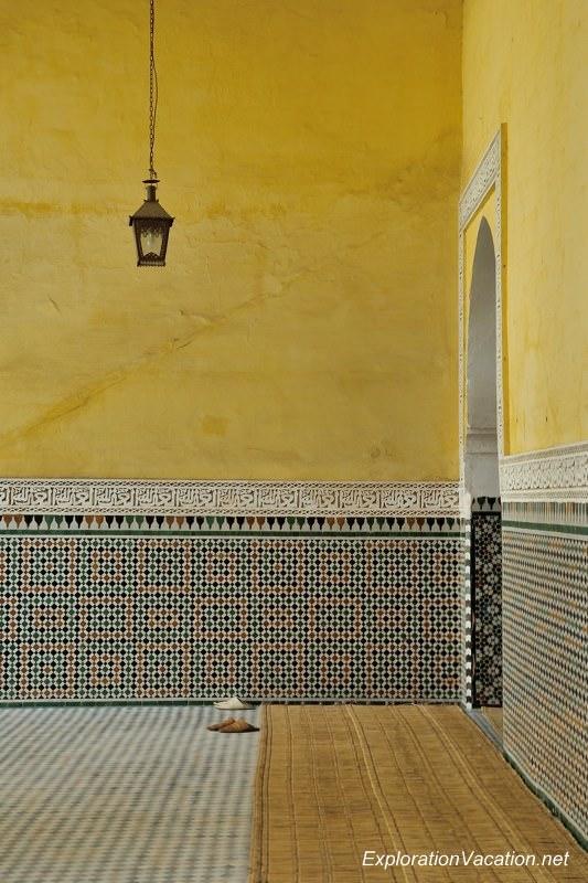 Mausoleum of Moulay Ismael Mekness Morocco DSC_0834
