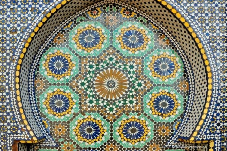 Mausoleum of Moulay Ismael Mekness Morocco DSC_0840