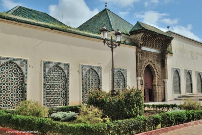 Mausoleum of Moulay Ismael Mekness Morocco DSC_0854
