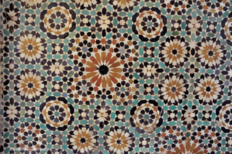 Mausoleum of Moulay Ismael Mekness MoroccoDSC_0802