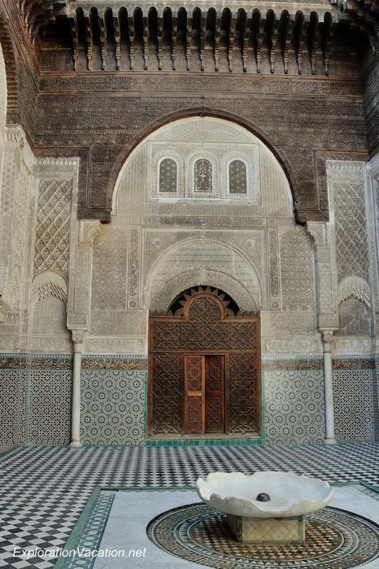 El-Attarine Medersa in Fès Morocco -1 DSC_1161