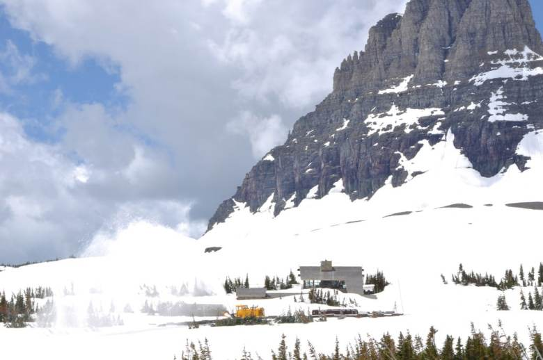 Glacier National Park - Logan Pass Visitor Center 6-11 14219522059_c46f490159_b