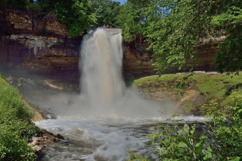 Minnehaha Falls Minneapolis Minnesota 20140624-DSC_9007 Minnehaha Falls
