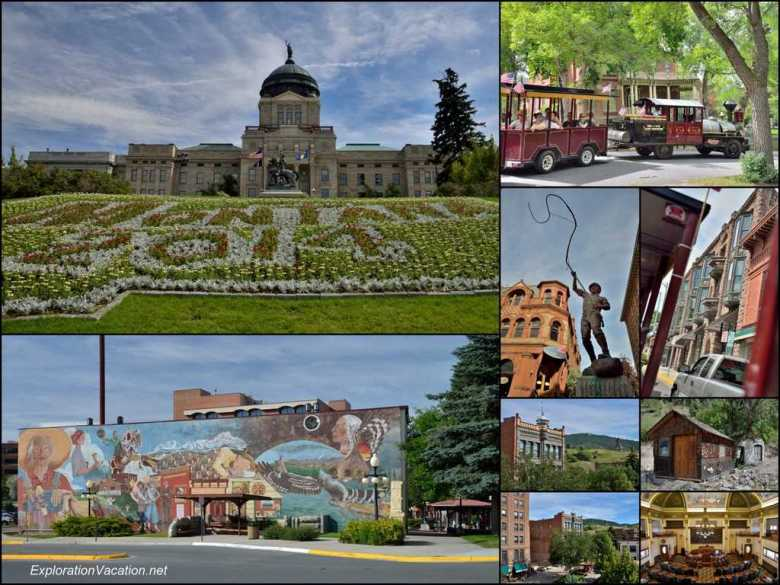 Collage - Historic Helena Montana - ExplorationVacation for web