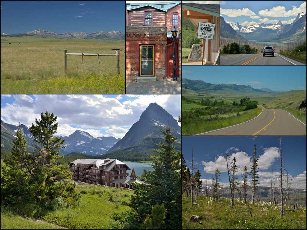 Montana - From Helena to the Mountains of Glacier National Park