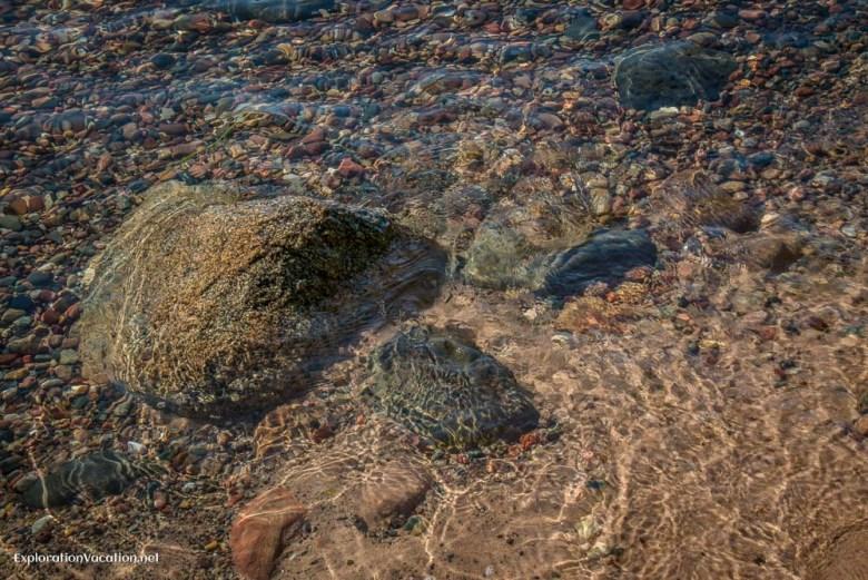Rocks on Rocky Island in Wisconsin's Apostle Islands 1