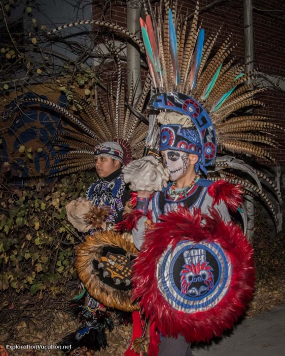 Day of the Dead procession in Minneapolis Minnesota - ExplorationVacation.net