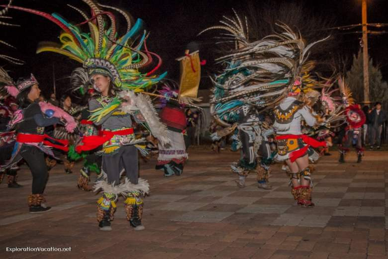 Dancing at Day of the Dead festivities in Minneapolis Minnesota - ExplorationVacation.net