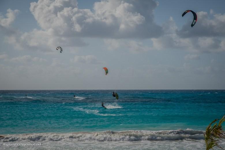 kitesurfing Cancun - ExplorationVacation.net