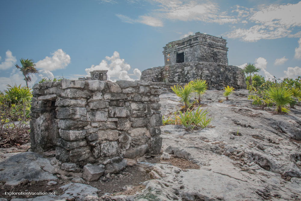 Temple of the wind, Tulum, Mexico