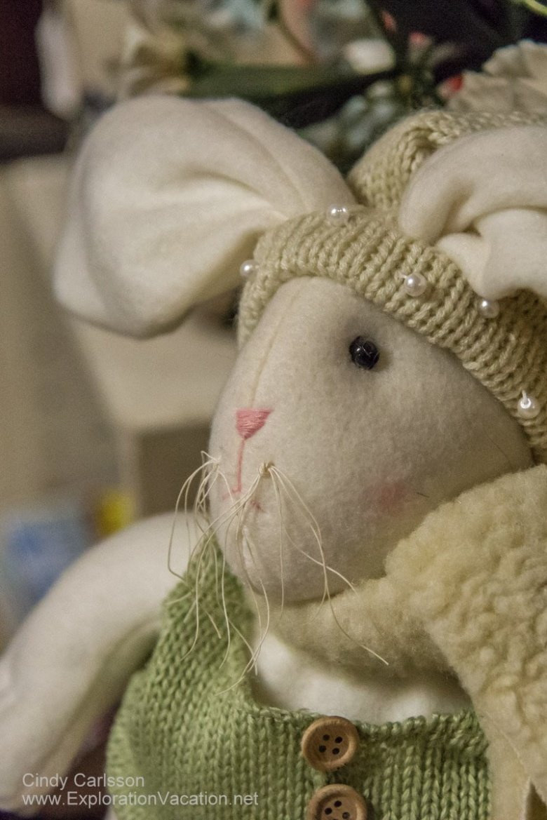 Annabella's in Bovey Minnesota sells charming bunnies and a whole lot more - www.ExplorationVacation.net