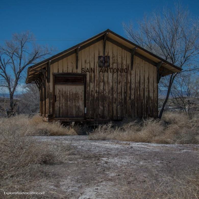 San Antonio along I-25 in New Mexico - ExplorationVacation.net
