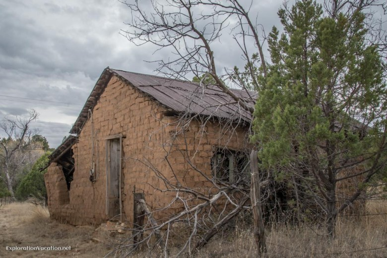 abaonded building in Pinos Altos New Mexico - ExplorationVacation.net