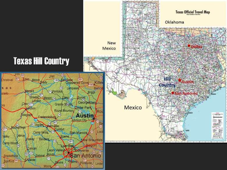 Texas Hill Country Maps - ExplorationVacation