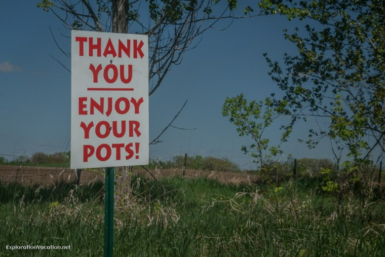 """St Croix Valley Pottery Tour """"Thank you for buying pottery"""" - ExplorationVacation.net"""