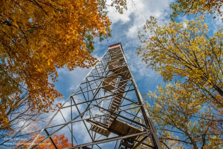 lookout tower at Kathio Mille Lacs State Park