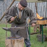blacksmith Voyageurs at Grand Portage MN