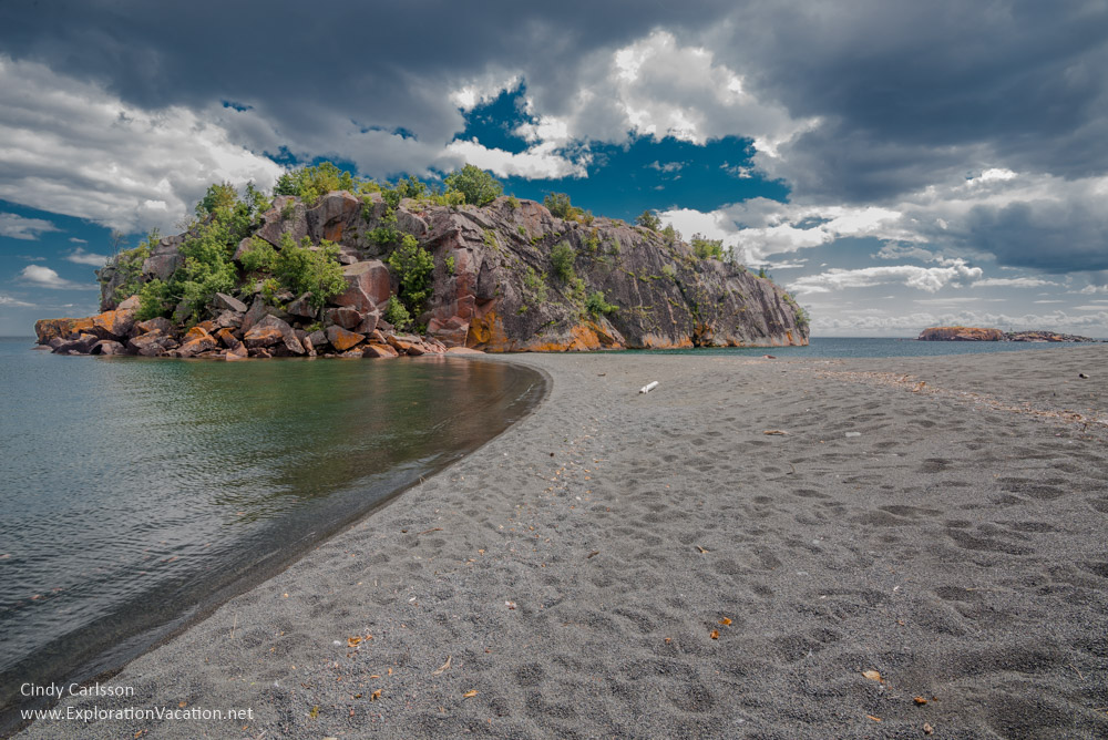 Discover Minnesota's Black Beach