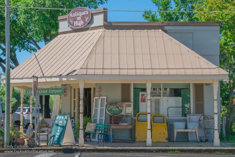 antique shop Comfort Texas